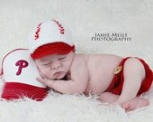 Newborn Baseball Hat and Diaper Cover