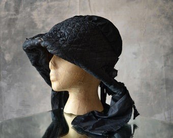 Bonnet linsey woolsey 1800s