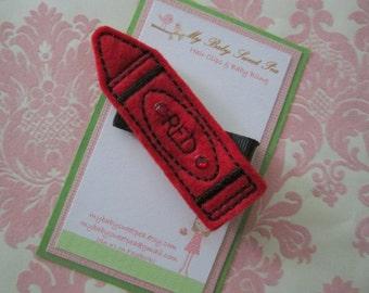 Girl hair clips - back to school hair clips - girl barrettes