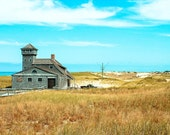 Travel Photography Landscape Photography Cape Cod rustic country photography beach wall art yellow turquoise 4x6 Fine Art Photography Print