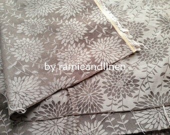 """silk fabric, yarn dyed floral jacquard weaved silk cotton blend fabric, Fat Quarter, 18"""" by 22"""""""