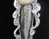 Gypsy Woman Pin or Pendant