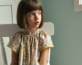 Sewing Pattern: Girls Angel Sleeve Dress and Blouse size 3 months to 8 (PDF, e-pattern, eBook INSTANT DOWNLOAD)