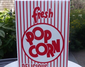 24 Retro Popcorn Box  .75 oz.