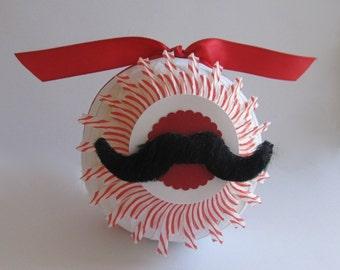 Surprise Ball- Mustache