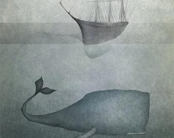 Ocean deep  - Art print (3 different sizes)