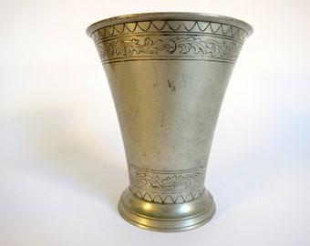 Antique Middle Eastern Mortar Vase