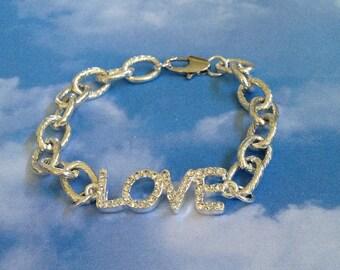 Bridal Love Crystal Bracelet