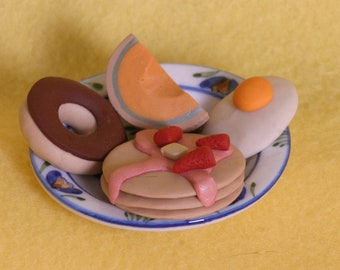 pancake breakfast doll food for American Girl dolls