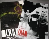 Issues 2 and 3 of Cram Magazine