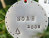 Personalized Ornament - Holiday Ornaments - Personalize Ornament -Holidays- Childrens Christmas Ornaments - Personalized - Christmas Tree