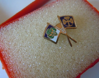 Girl Scout International Friendship PIn Girl Scout Collectible