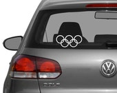 Olympic Rings Decal