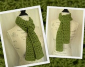 Light and Lacy Fall Crochet Scarf - Handmade - Ready to Ship
