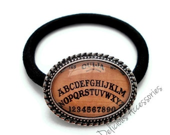 Ouija Board Ponytail Holder