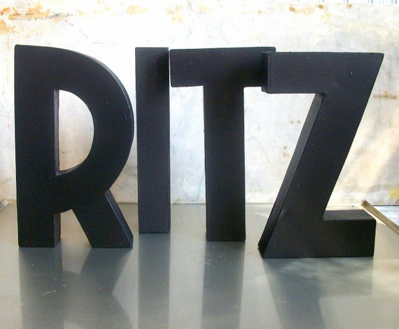 Vintage Letters / Christmas / New Years / Puttin on the RITZ