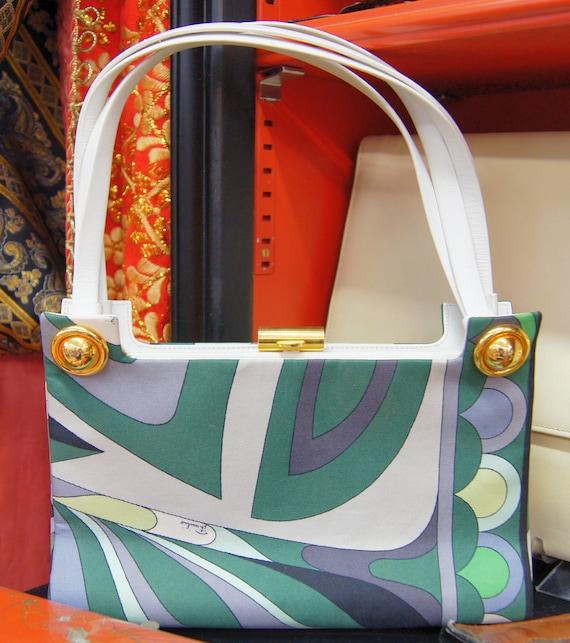 Rare 60's Emilio Pucci Handbag / Clutch