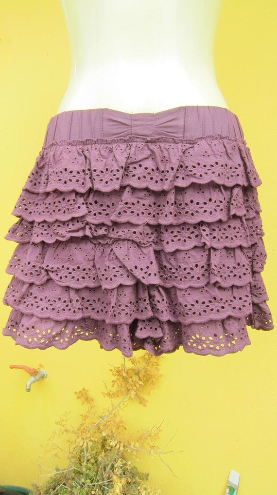 vintage inspired purple cotton rara knickerbockers......handstands here we come....