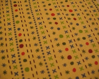 Riley Blake Fabric Scoot Yellow Stripe -1 YD