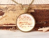 Yours truly, Jack the Ripper - Vintage Necklace