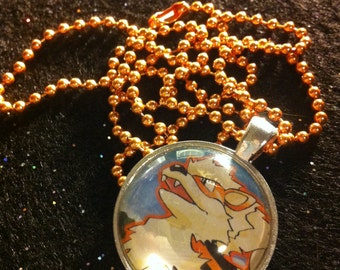 Arcanine Necklace