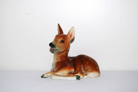 Vintage Deer Collectible