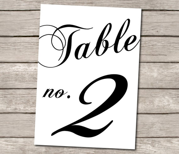 Unavailable listing on etsy for Table numbers for wedding reception templates
