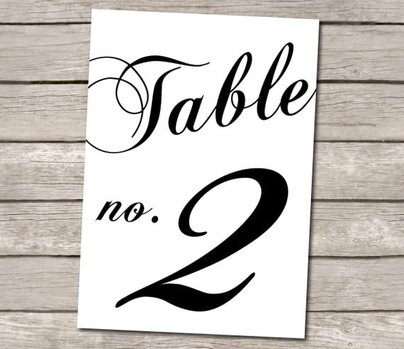 table numbers for wedding reception templates - unavailable listing on etsy