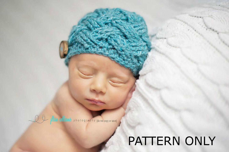 Entrelac beanie crochet pattern crochet pattern crochet
