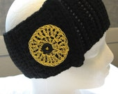 Hand Crocheted Headband / Ear Warmer (Child/Youth Small)