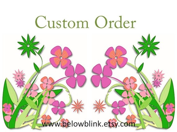 Custom order for ExtraordinaryAromas