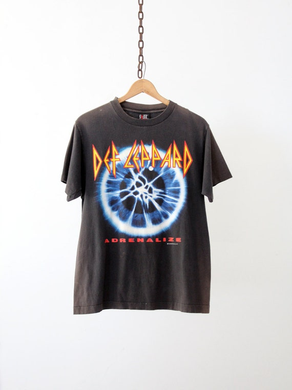 Vintage Def Leppard Tee / Adrenalize 7 Day Weekend Tour