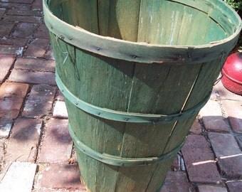 Vintage Wooden Fruit Basket.