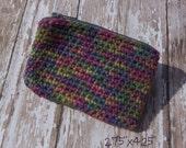 Cute Crocheted Zippered Coin Purse