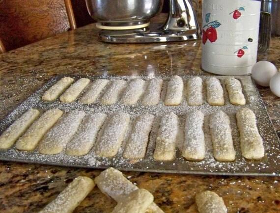 Lady Finger Baking Mold By Cynthiasattic On Etsy