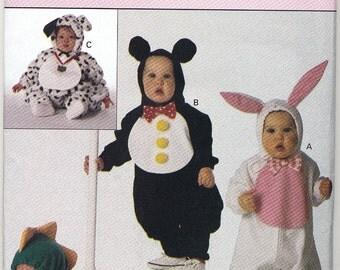 Butterick Children's Costume Pattern 3050 Animals
