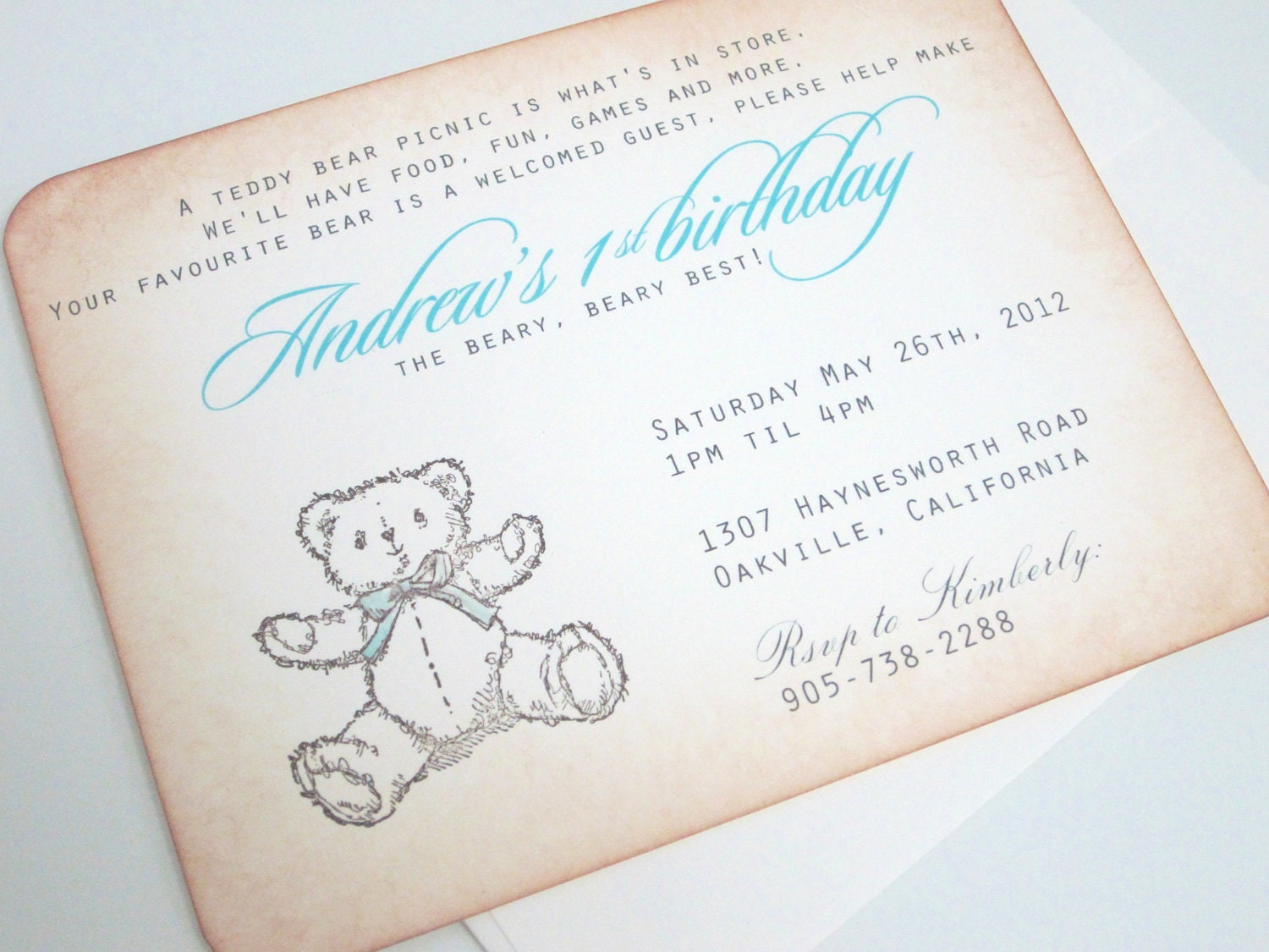1 Birthday Invitation Wording is awesome invitation design