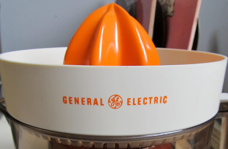 Electric Orange Juicer ~ Vintage general electric orange juicer