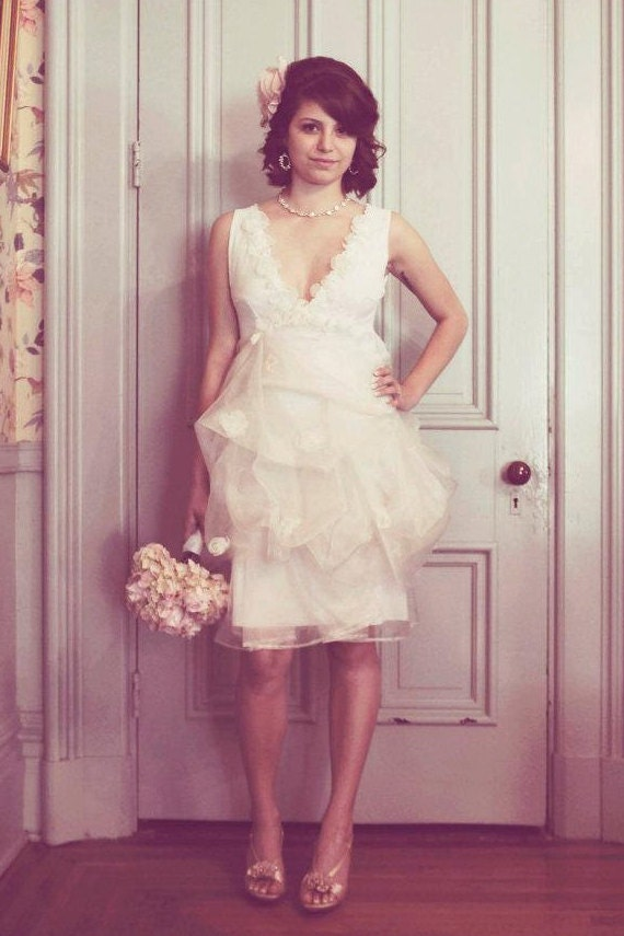 Alternative Wedding Dress S London : Short wedding dress gown reception alternative