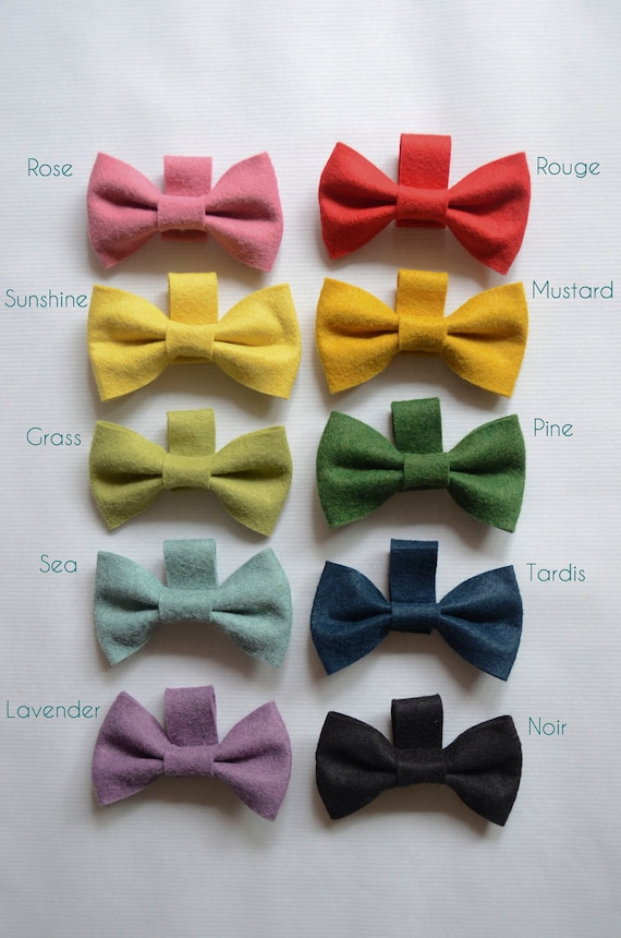 CUSTOM ORDER - Snappy Critter Collar Bow Tie