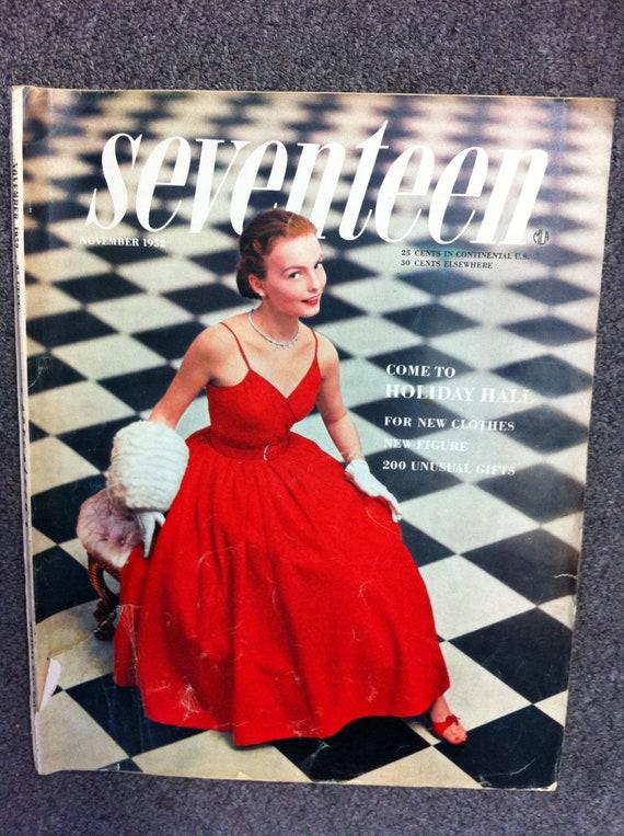 Seventeen Magazine 1950s Fashion Magazine