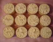 Intensely Scented Hand Poured Soy Tealight Candles / Package of 12
