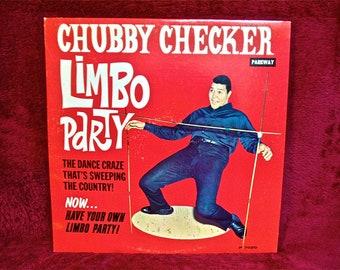 "CHUBBY CHECKER - ""Limbo Party"" - 1962 Vintage Vinyl Record Album"