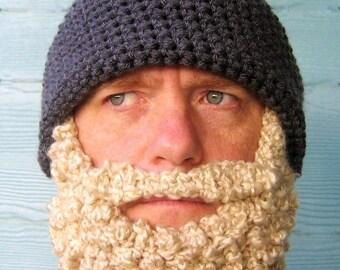Beard Beanie Hat - CUSTOM LISTING - Made to Order