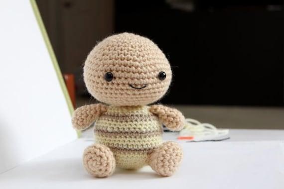 Crochet Amigurumi Pattern - Timmy Turtle