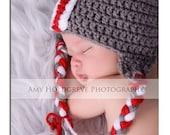 Newborn Buckeye Helmet