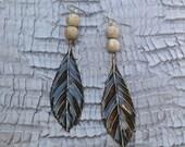 Autumn Leaf Earrings (sw161)