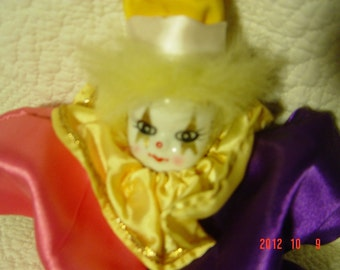 Clown Doll, Vintage