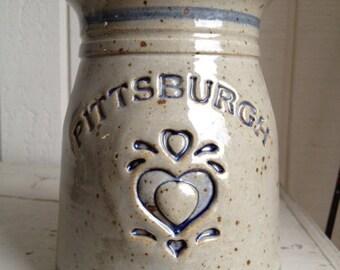 Pittsburgh Love Stoneware Pottery