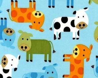 Urban Zoologie Bermuda Cows by Ann Kelle for Robert Kaufman